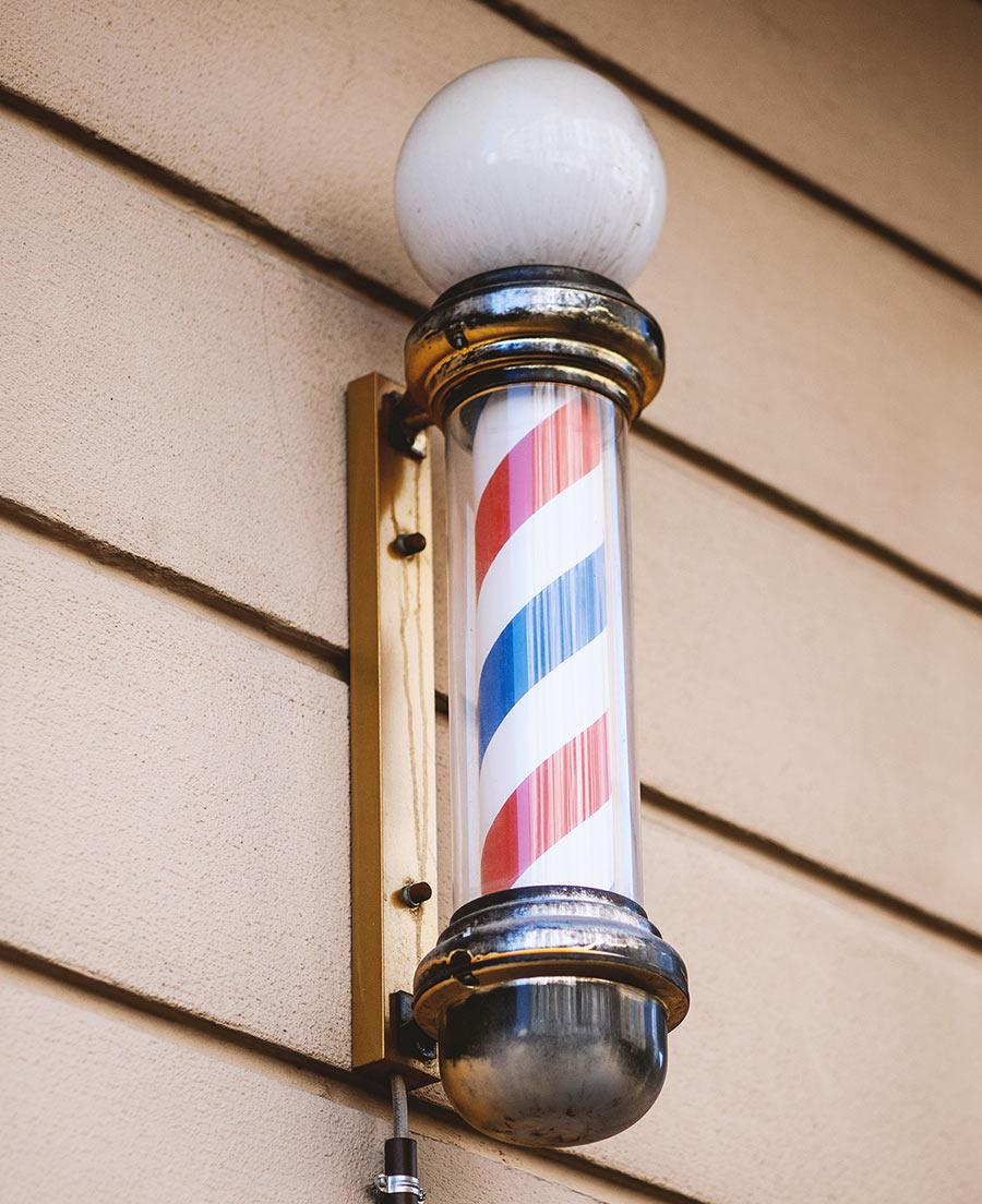 DAS MUSTER THE BARBER'S POLE